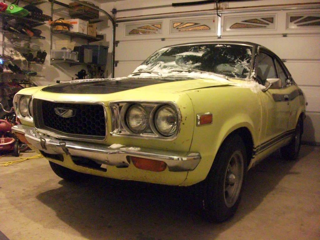 Mazda Millenia White Snow Milly Logbook: My 1973 Mazda 808 Coupe Is Now In
