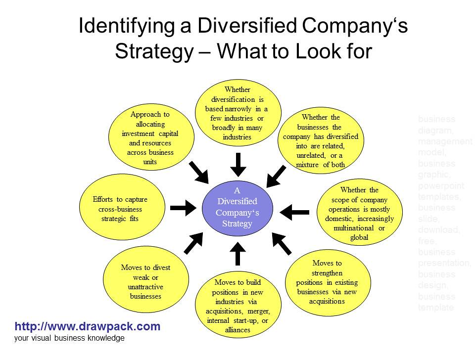 A Diversified Company's Strategy diagram | Flickr - Photo Sharing!