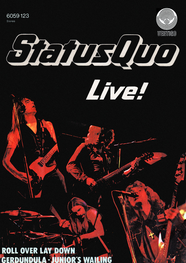 Status Quo - Poster - Roll Over Lay Down | Status Quo ...