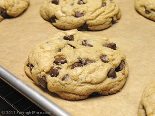 Nigella's Big Chocolate Chip Cookies 3 | by Farmgirl Susan