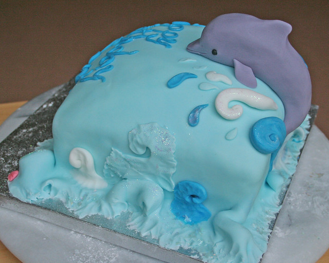 Dolphin Birthday Cake Images