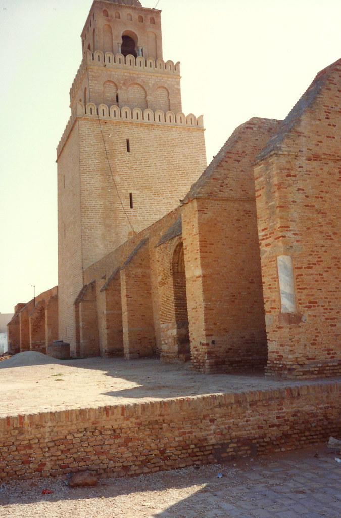 Tunisia Moschea Kairouan Tunisia Kairouan la