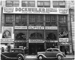 Clifton's Cafeteria, 1940 | by jericl cat