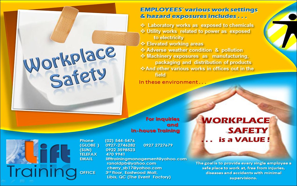 workplace safety brochure lift training flickr. Black Bedroom Furniture Sets. Home Design Ideas