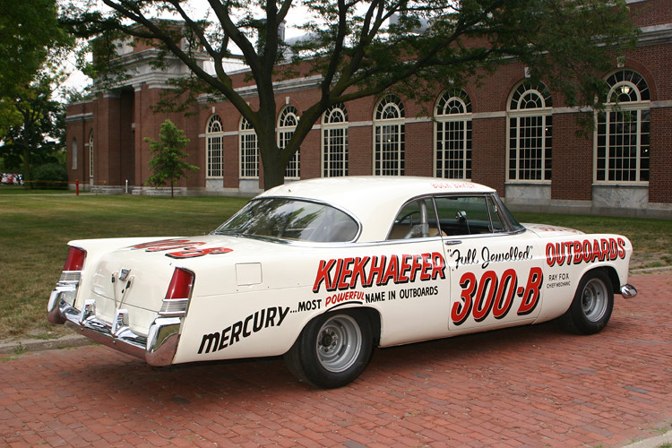 Chrysler 300 B Stock Car 1956 Used By The Kiekhaefer Rac