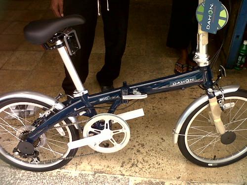 Sepeda lipat DAHON ECO C7 Harga: Rp. 1.850.000. - Serba sepeda