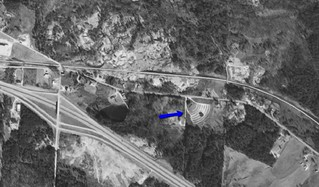 Highway 12 Drive-In aerial photo 1968 | by OzonerGPS