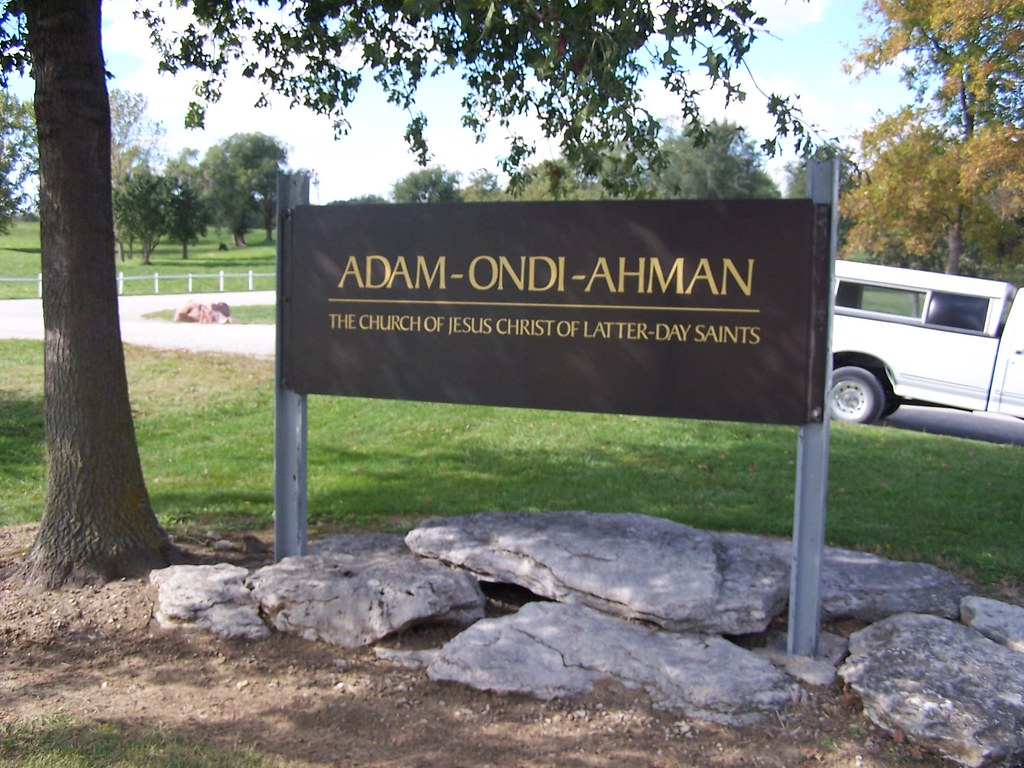 Adam ondi ahman adam ondi ahman in western missouri is - Jackson county missouri garden of eden ...