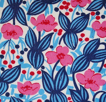 Vintage Floral Fabric | by Niesz Vintage Fabric
