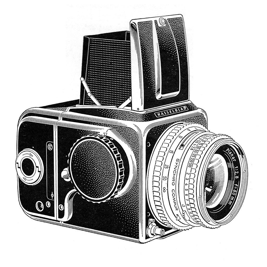 Line Art Camera : Hasselblad ad line art a beautiful technical