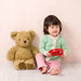 Daughter with Teddy's Bear