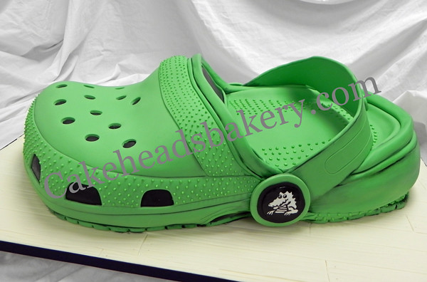 Crocs Birthday Cake