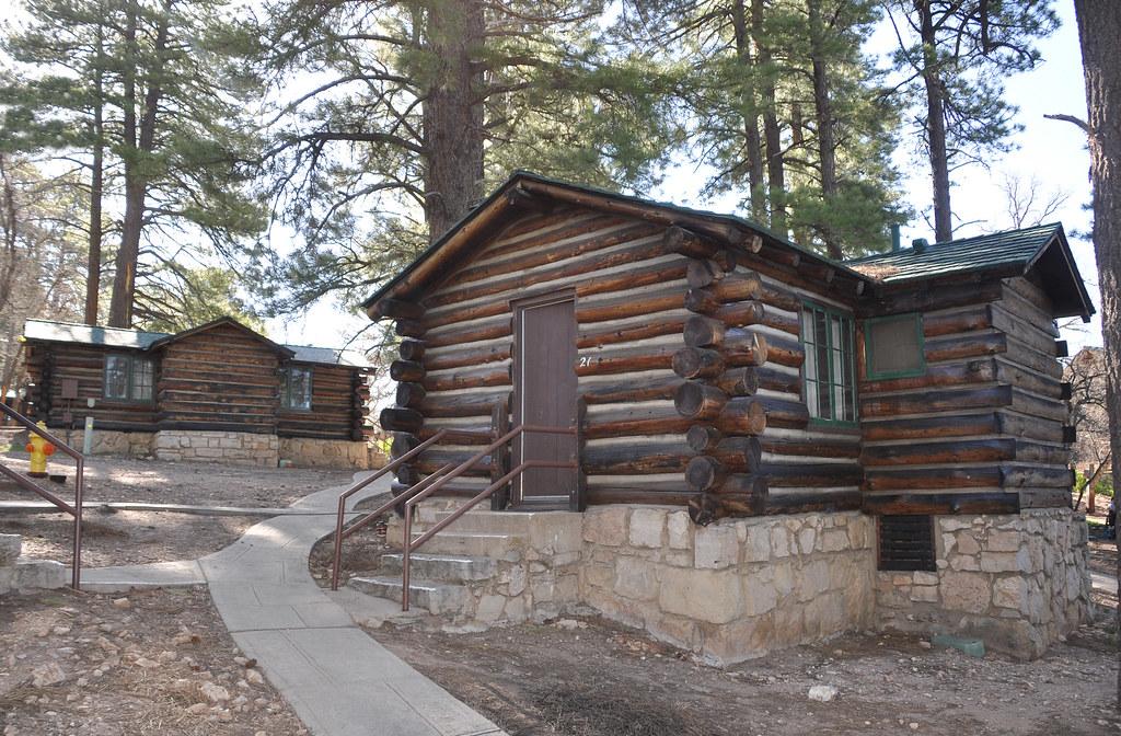 Grand Canyon Lodge North Rim Frontier Cabins 0416 Grand