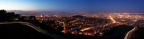 San Francisco from Twin Peaks after Sunset | by Marc Liyanage