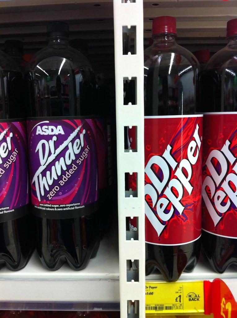 dr Thunder vs dr Pepper dr Thunder vs dr Pepper