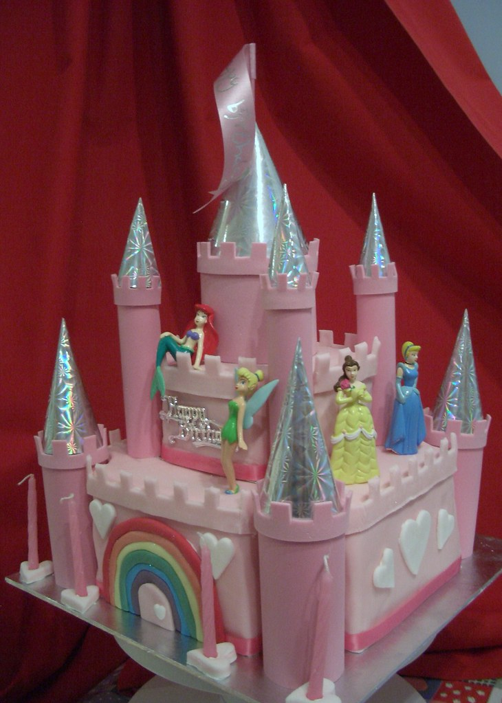 Disneyland Castle Birthday Cake