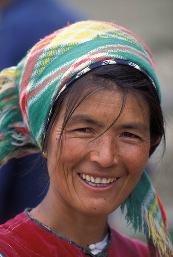 Woman smiling China | by World Bank Photo Collection