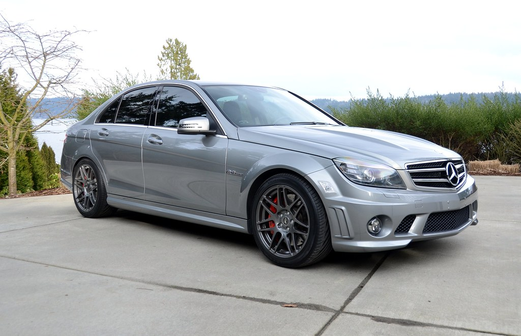 2010 Amg C63 P31 With Forgestar F14 Wheels T I G Flickr