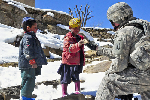 Reaching out | by The U.S. Army