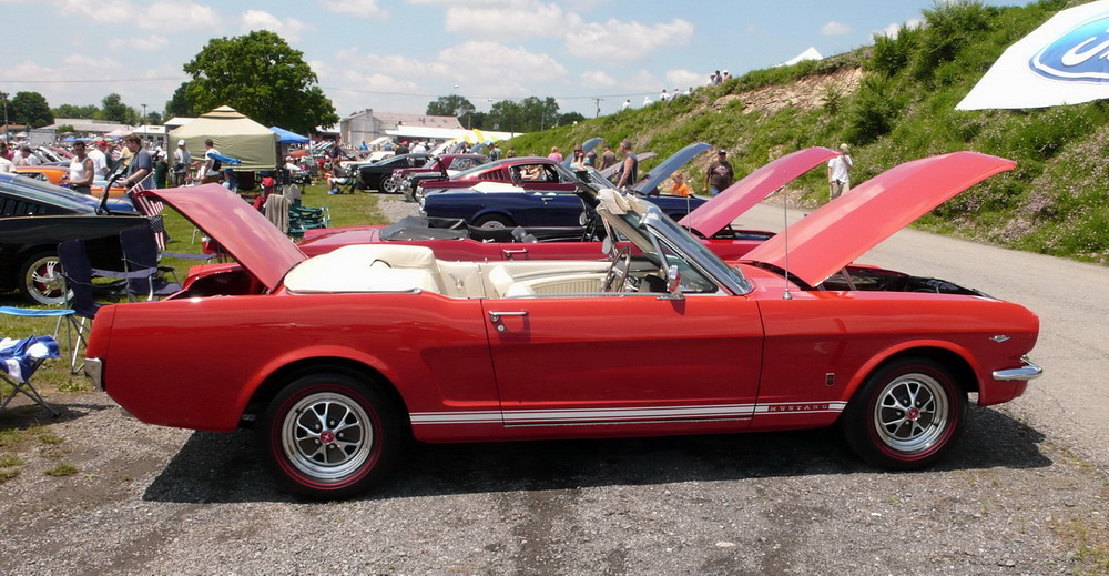 1965 ford mustang gt convertible very clean a code gt. Black Bedroom Furniture Sets. Home Design Ideas