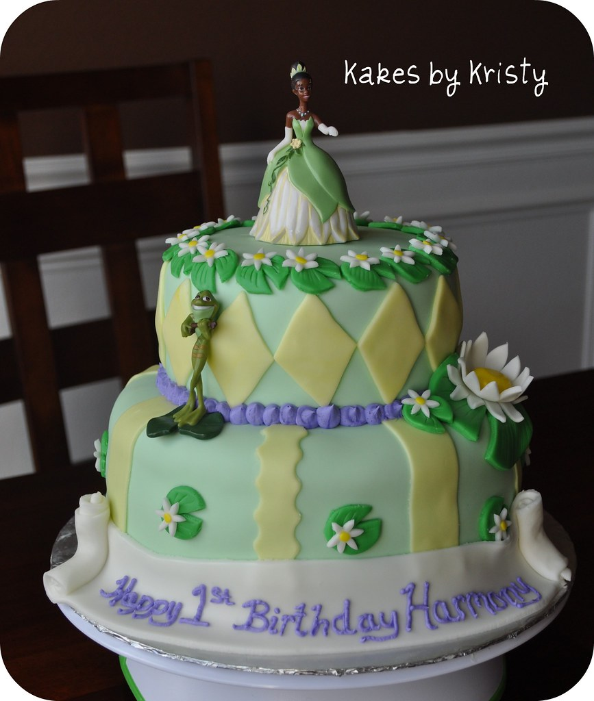 Princess Tiana Cake Pictures : Princess and the frog 1st Birthday cake See more of my ...