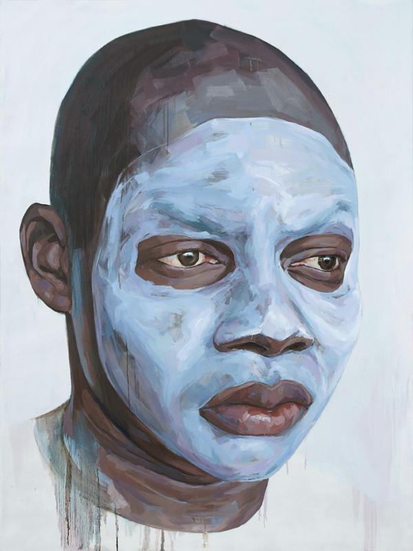 Black White Face Paint