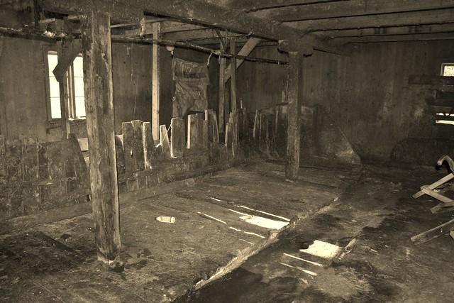 Inside old barn   Flickr - Photo Sharing!