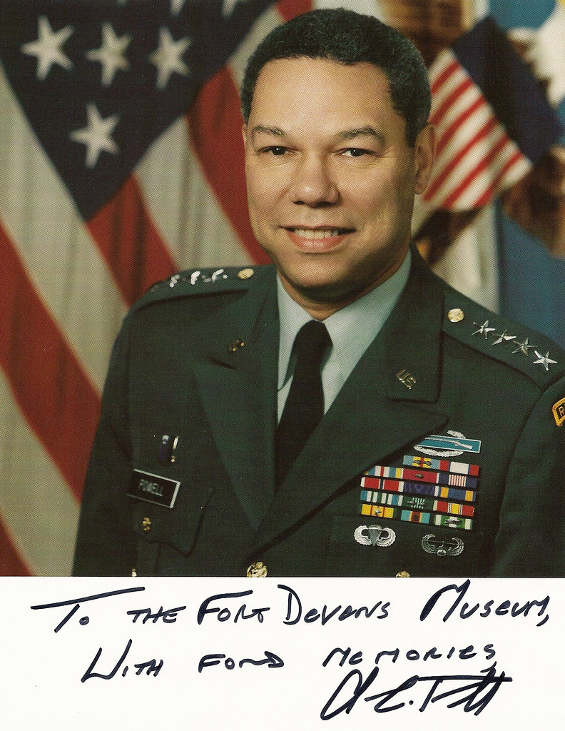 The Honorable General Colin Powell Served At Fort Devens