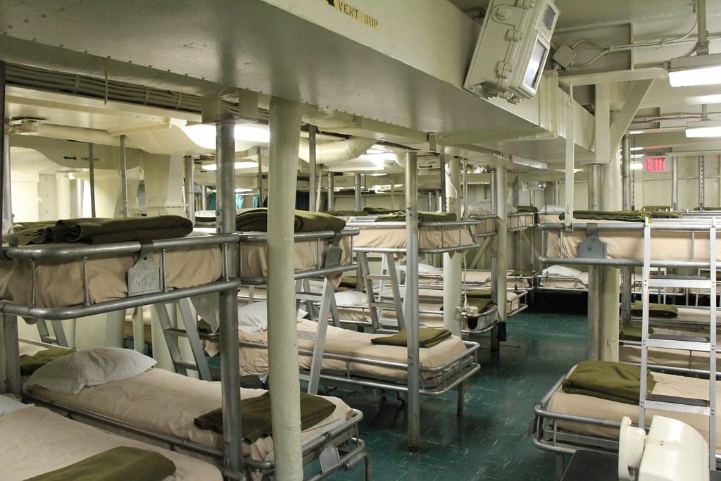 Sleeping quarters   USS Hornet.   Martin Jensen   Flickr