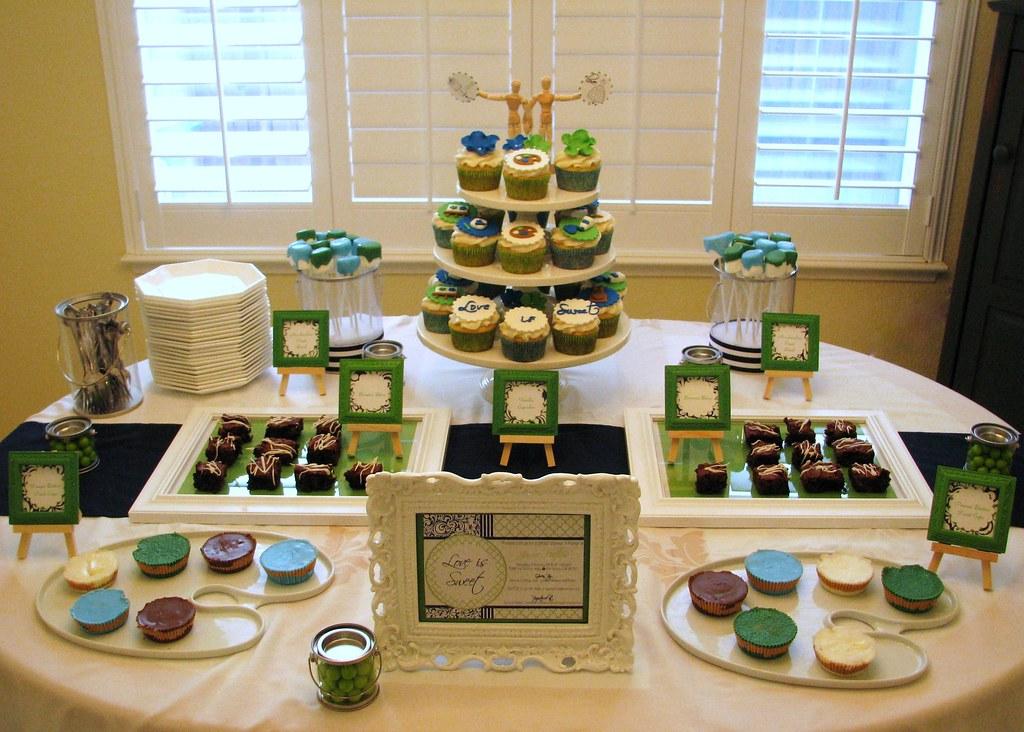 Quot Love Is Sweet Quot Art Themed Bridal Shower Dessert Table