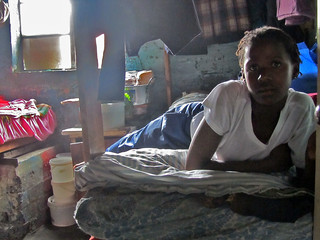 Girl in a Hostel in Langa, Cape Town | by jdroth
