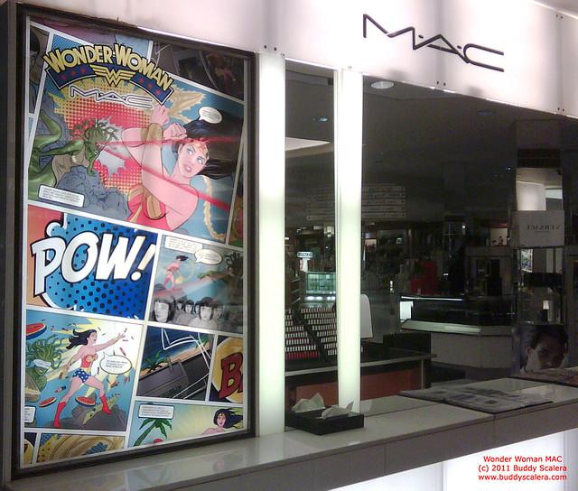 Wonder Woman - M.A.C Cosmetics store - Macy's | Flickr - Photo Sharing ...