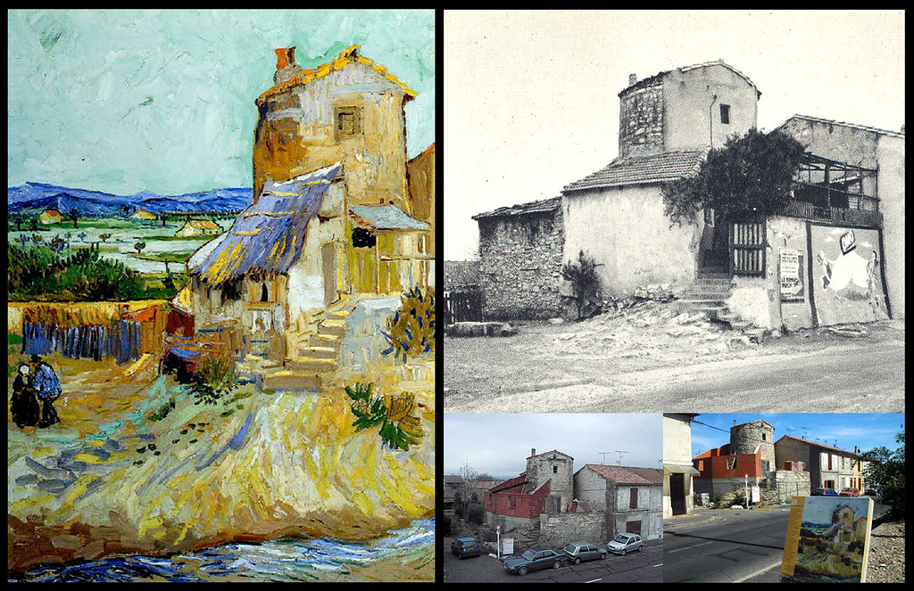 29. Vincent Van Gogh. El Viejo Molino. Arles 1888 | El