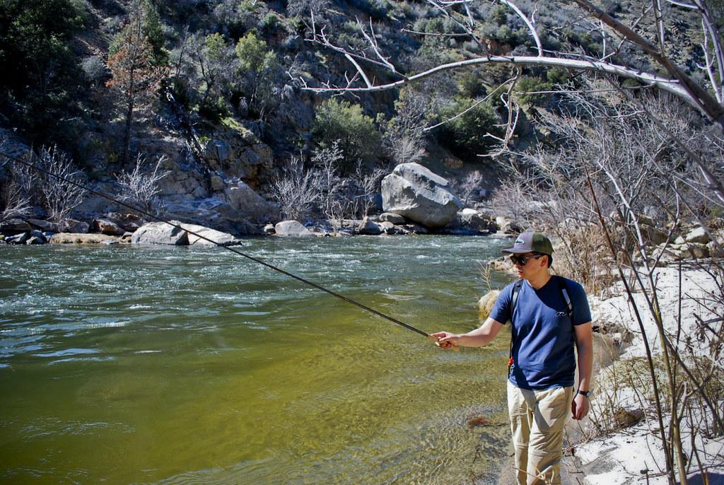 Kern river tenkara fly fishing on the kern river for Kern river fishing