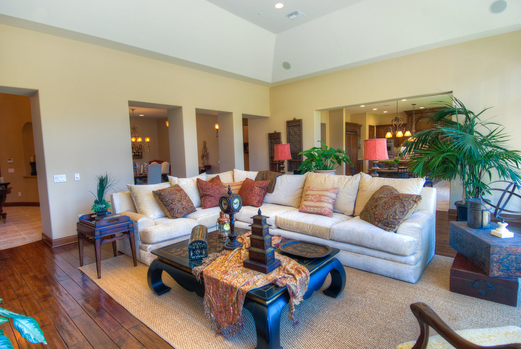 Tuscan Family Room Designs