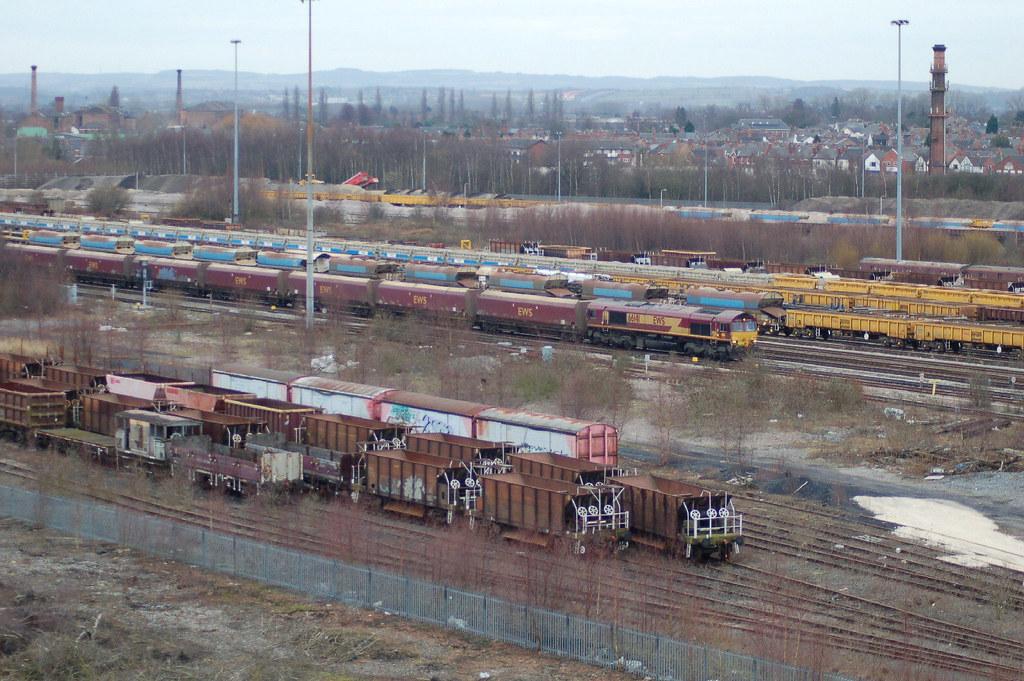 Db Schenker Class 66 0 66141 Toton Yard Db Schenker