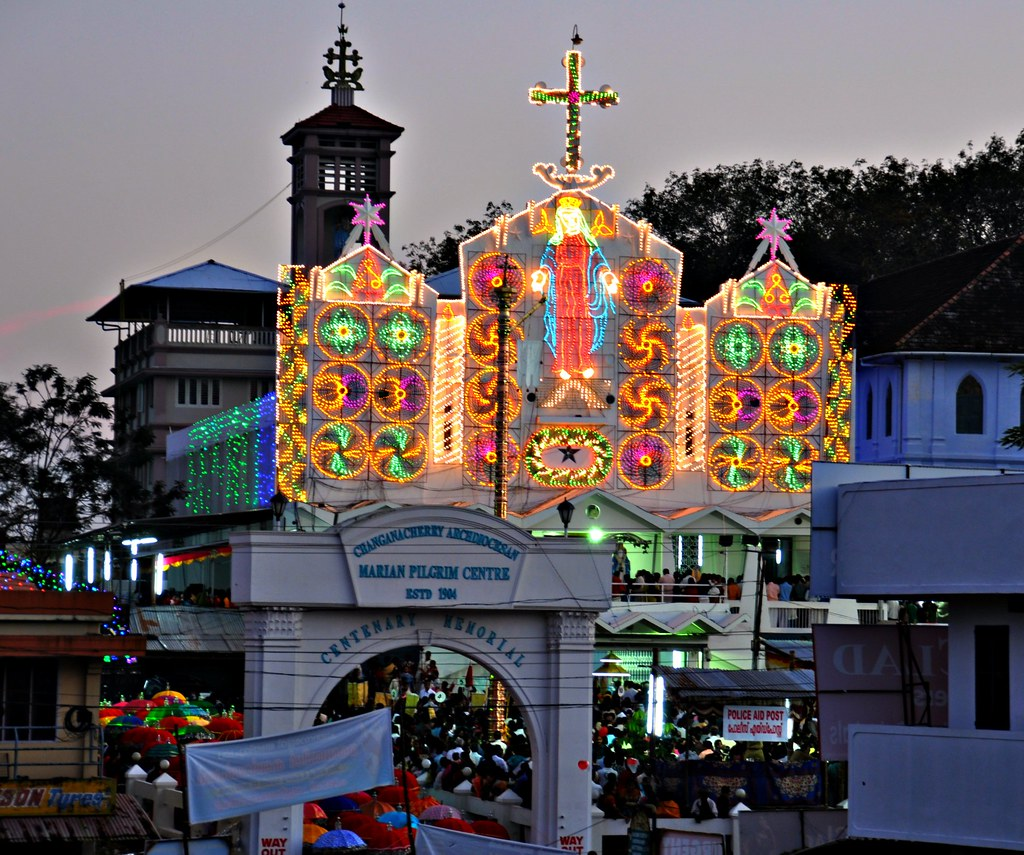 Its Festive Time In Kerala... St. Mary's Church, Parel Cha