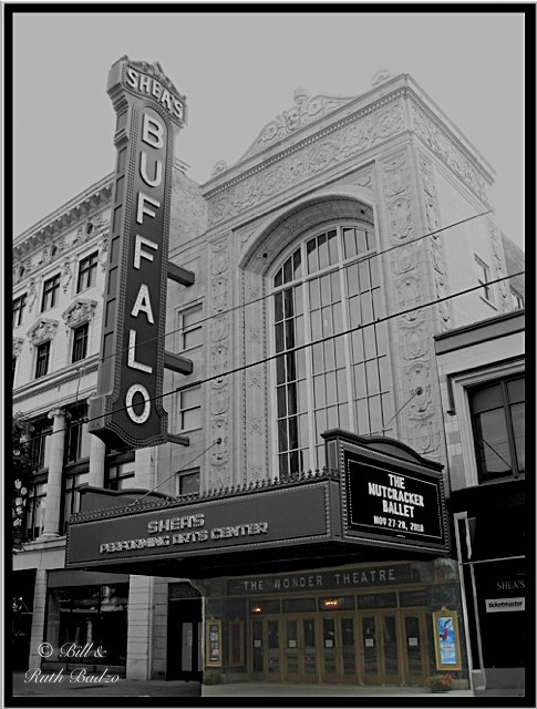 Buffalo Ny Shea S Theatre View On Main Street Shea S