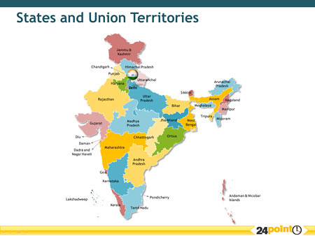 India  States and Union Territories  This map shows all of  Flickr
