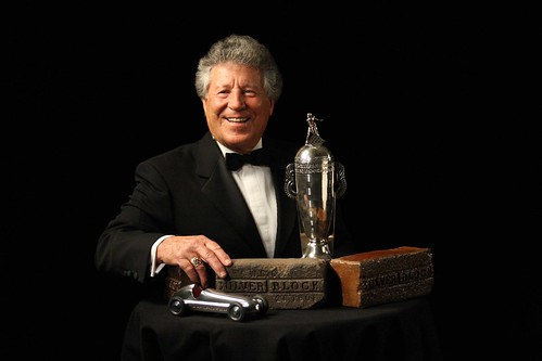 Mario Andretti at the Indianapolis 500 Centennial Gala | by indianapolismotorspeedway.com