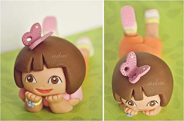 Dora The Explorer Fondant Cake Topper