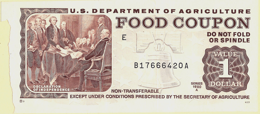 Food Stamps And Coupons