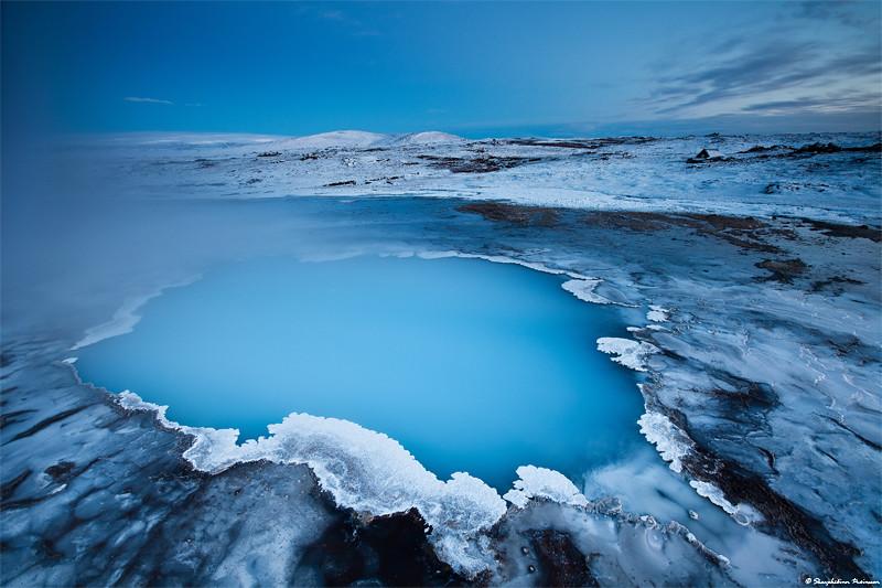 Blue Hour At Hveravellir West Highlands Iceland Flickr