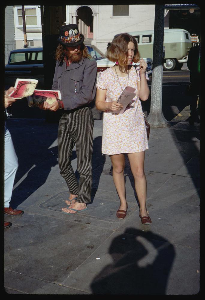 haight street hippies san francisco california photo