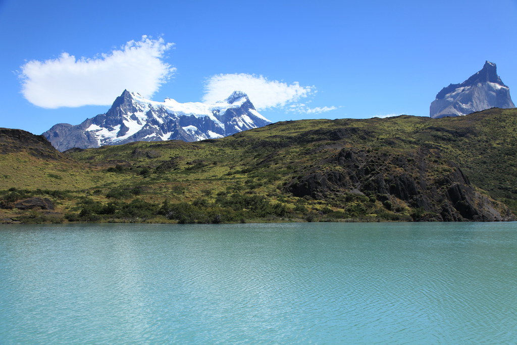 Lake Pehoe | In Torres del Paine National Park, Chile ... Liam