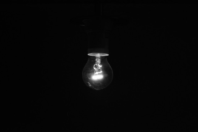 Light Bulb Flickr Photo Sharing