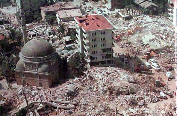 A Masjid In Turkey Still Standing After Earthquake Miracl