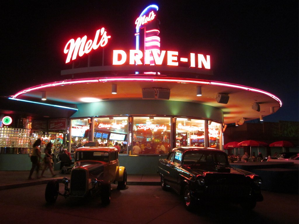 mel 39 s drive in diner universal studios orlando fl flickr. Black Bedroom Furniture Sets. Home Design Ideas