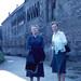 Bad Wimpfen - Mother and Marguerite at Kaiserpfalz