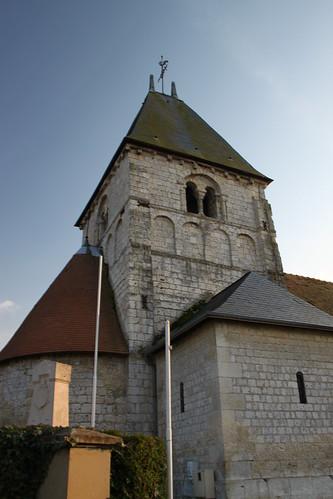 Eglise saint andr de yainville eglise romane saint for Fenetre yainville